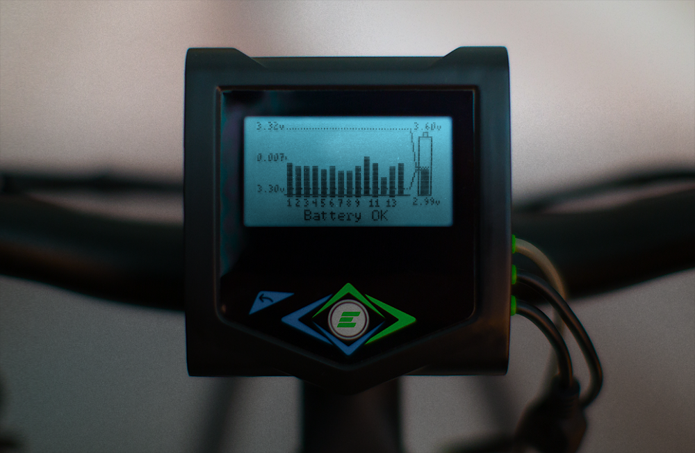 Electric Bike BMS - controls battery charging, voltage up to 28 cells!